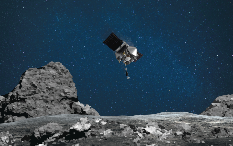 NASA's OSIRIS-REx Seeks to Grab a Piece of Asteroid Bennu