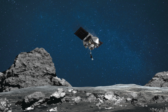 NASA's OSIRIS-REx Seeks to Grab a Piece of Asteroid Bennu