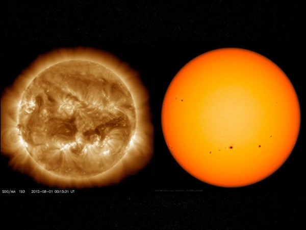 Well-Rounded: Sun Stays Nearly Spherical, Even When It Freaks Out
