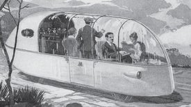 Imagining the Sleek Car of the Future--in 1918
