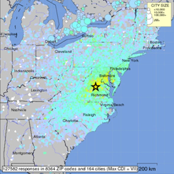 Why Was the Virginia Earthquake Felt So Widely?