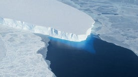 Maps That Peer Below Antarctic Ice Show Precarious Position of Key Glacier