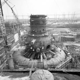 Mark I containment at the Browns Ferry Nuclear Plant