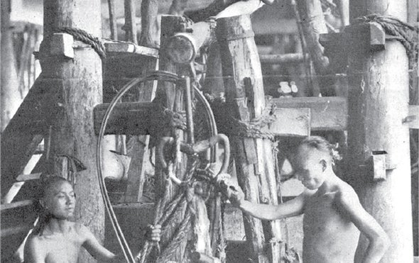 Ancient Technology Feeds the Need for Salt in 1916