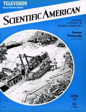 Scientific American Volume 160, Issue 4