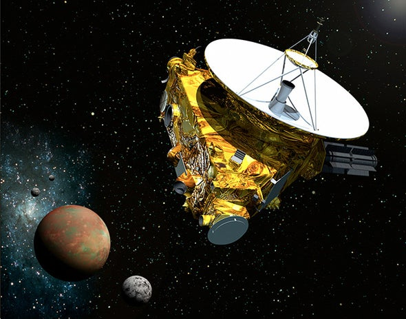 Spacecraft Glitch Won't Affect Pluto Flyby, NASA Says