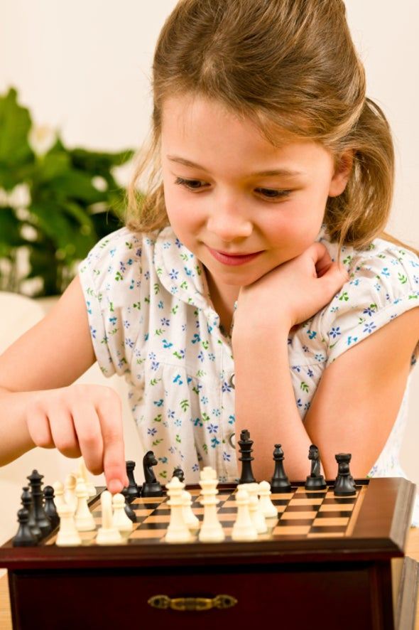 Are Girls Bad at Chess?