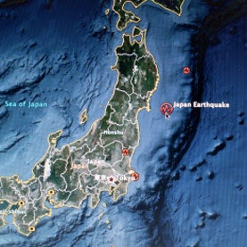 japan earthquake aftershocks tsunami
