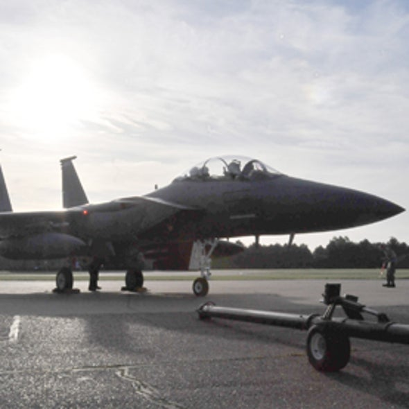"""Fatted Eagle"" Joins ""Green Hornet"" in U.S. Military's Alternative Fuels Fighter Fleet"