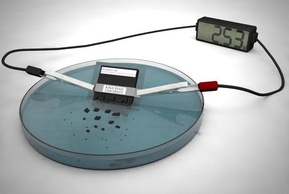 Self-Destructing Battery Can Dissolve Itself in 30 Minutes