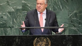 As Major Summit Convenes, U.N. Secretary-General Has Hope on Averting Warming