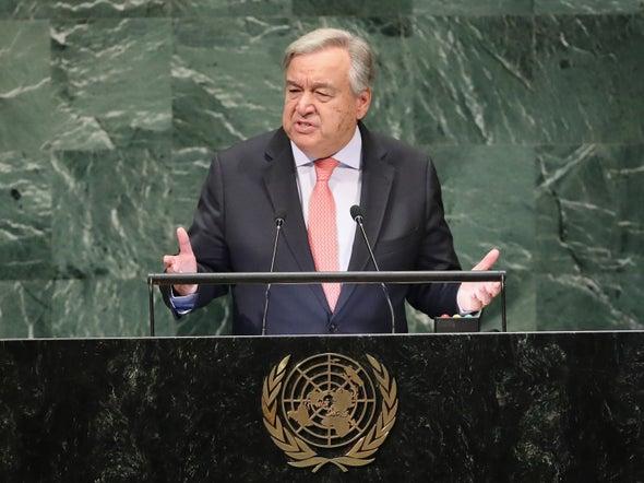 As Major Summit Convenes, U.N. Secretary-General Has Hope on Averting Warming