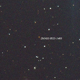 A Star at the Edge of Eternity