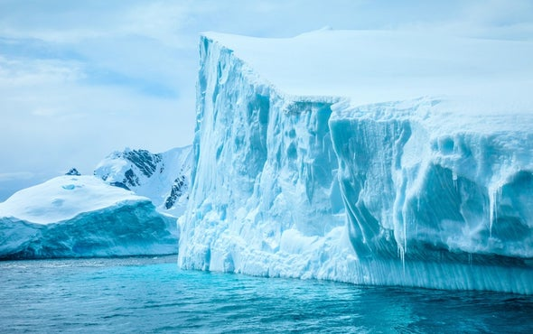 Icebergs Can Be Green, Black, Even Rainbow