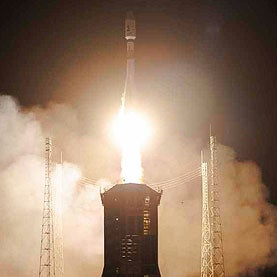 Star-Mapping Mission Lifts Off