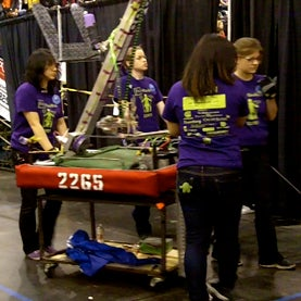 Girl Power: Student-Made Bots Break Down Gender Barriers in Science and Engineering Competition [Slide Show]