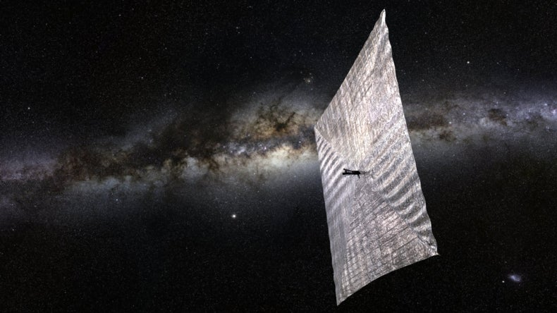 Solar Sail Spacecraft to Hitch a Free Ride on a Light Breeze in 2016