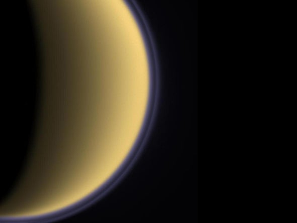Life-Friendly Molecules on Saturn's Moon Titan Could Help Reveal Origins of Earth Life