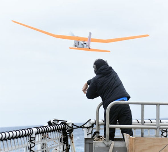 Drones Break the Ice on Antarctic Deep-Freeze Mission [Video]