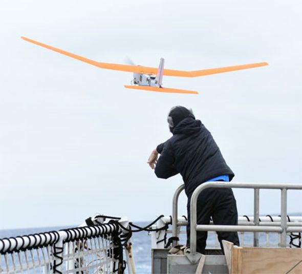 Drones Break the Ice on Antarctic Deep-Freeze Mission [Video]