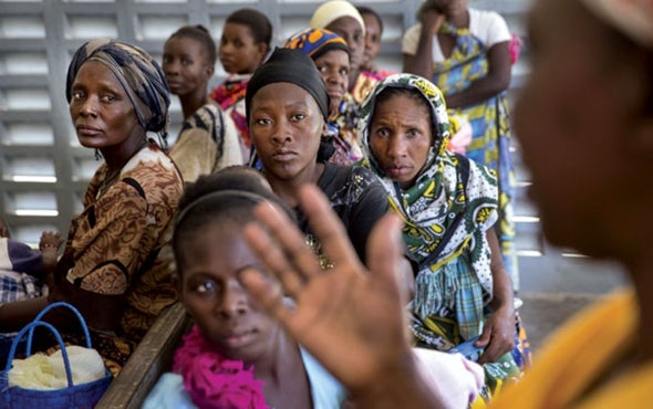 Print. Africa's Population Will Soar Dangerously Unless Women Are More  Empowered
