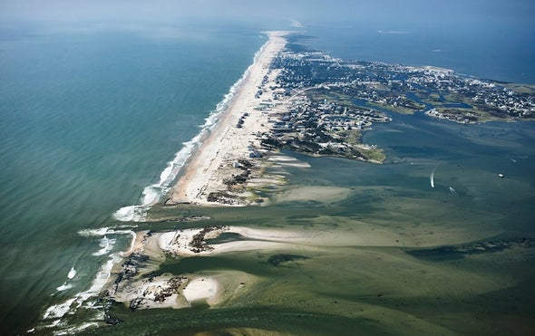 Sea Level Rise Is Speeding Up in Parts of the Southeastern U.S.