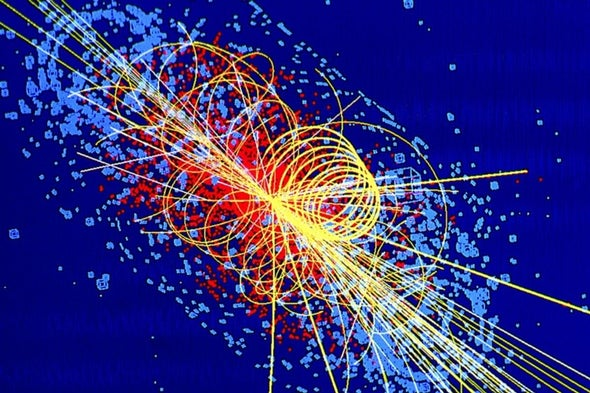 the characteristics origins and the discovery of antimater particles Subatomic particles of both matter and antimatter then began to appear from the energy present in the universe most of the particles annihilated to make photons, but some became protons, neutrons, electrons, and neutrinos.