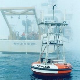 The first NOAA DART buoy