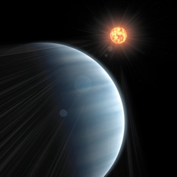 """Astronomers Get First Peek at Atmosphere of a """"Super-Earth"""" Exoplanet"""