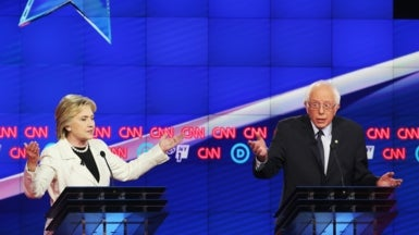 Clinton and Sanders Clash on Best Climate Action
