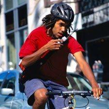Hale and Harmful: Are the Healthful Effects of Riding a Bike on City Streets Ruined by Inhaled Pollutants?