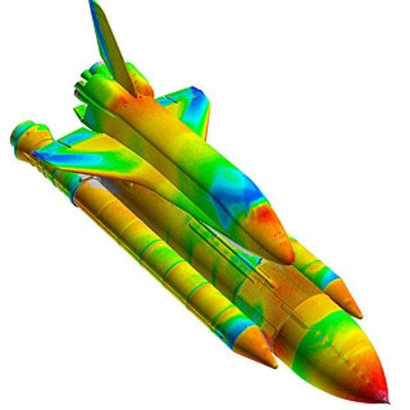 Planes under Pressure: Glowing Paint Reveals Flight Physics