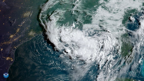 Disasters Collide as Tropical Storm Barry Heads Ashore