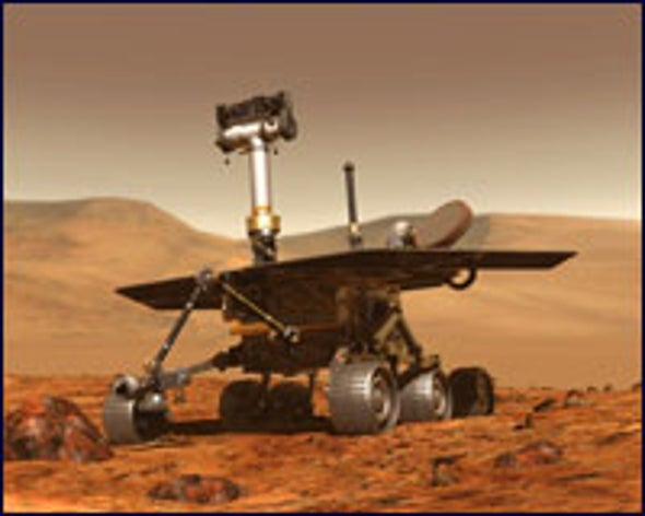 Spirit Rover Contacts NASA
