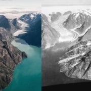 80 Years of Greenland's Vanishing Glaciers