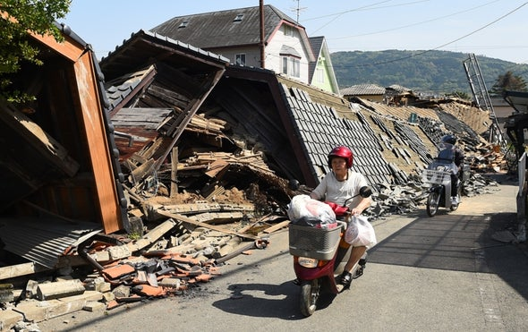 At Least 130 Aftershocks Jolt Japan after Deadly Quake