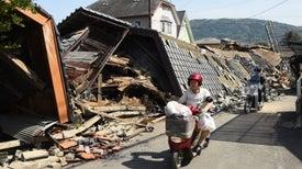 At Least 130 Aftershocks Jolt Japan after Deadly Quake