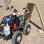 MONSTER ROVER WITH A PRECISE TOUCH: