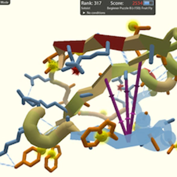 Gaming the System: Video Gamers Help Researchers Untangle Protein Folding Problem