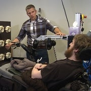 Brain Stimulation Allows Paralyzed Man to Feel His Hand Again