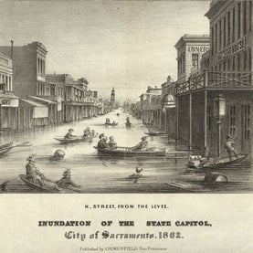 The Great Flood of 1862