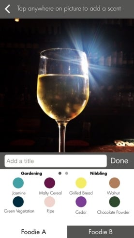 iPhone app called oSnap