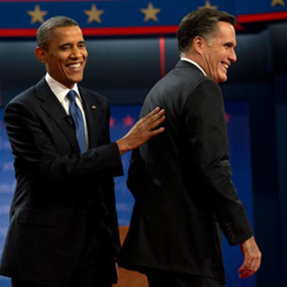 Climate Change a No-Show at Presidential Debate, but Candidates Clash on Energy