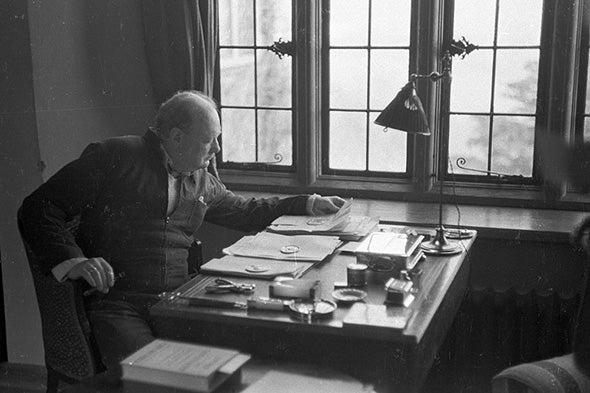 Winston Churchill, Astrobiologist