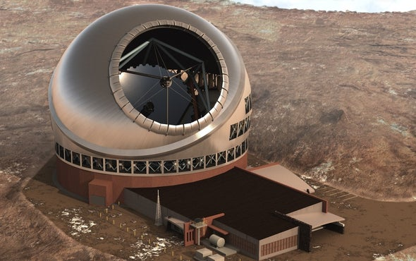 Construction of Thirty Meter Telescope Gets Go-Ahead