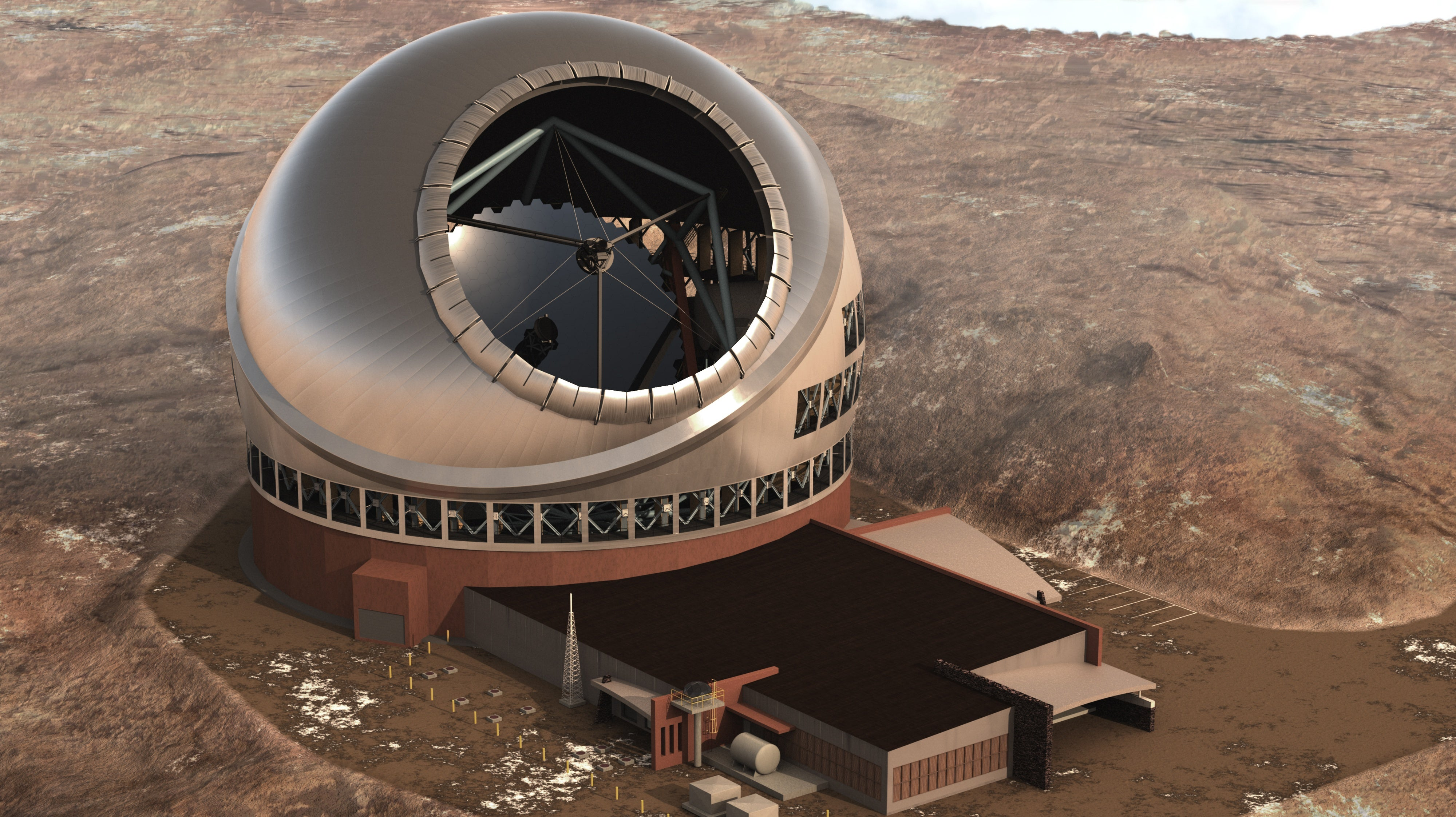 Go inside a telescope mirror factory to a billionth of a meter
