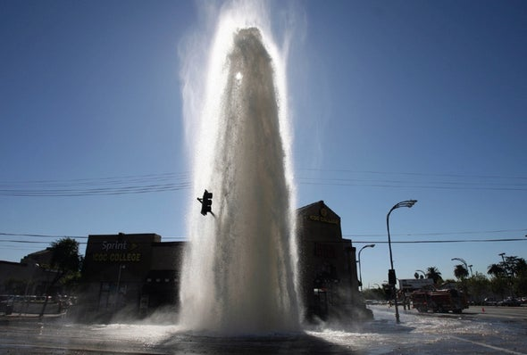 Water Main Breaks Are a New Norm
