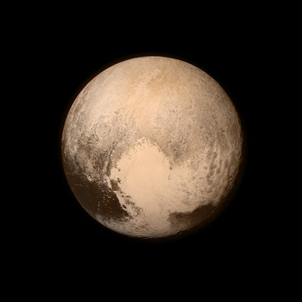 New Horizons Transforms Pluto from a Speck to a Sphere [Slide Show]
