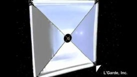 Solar Sail Set for Deep Space Voyage in 2015