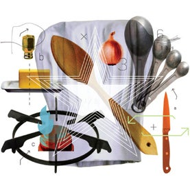 Cooking tools Illustration